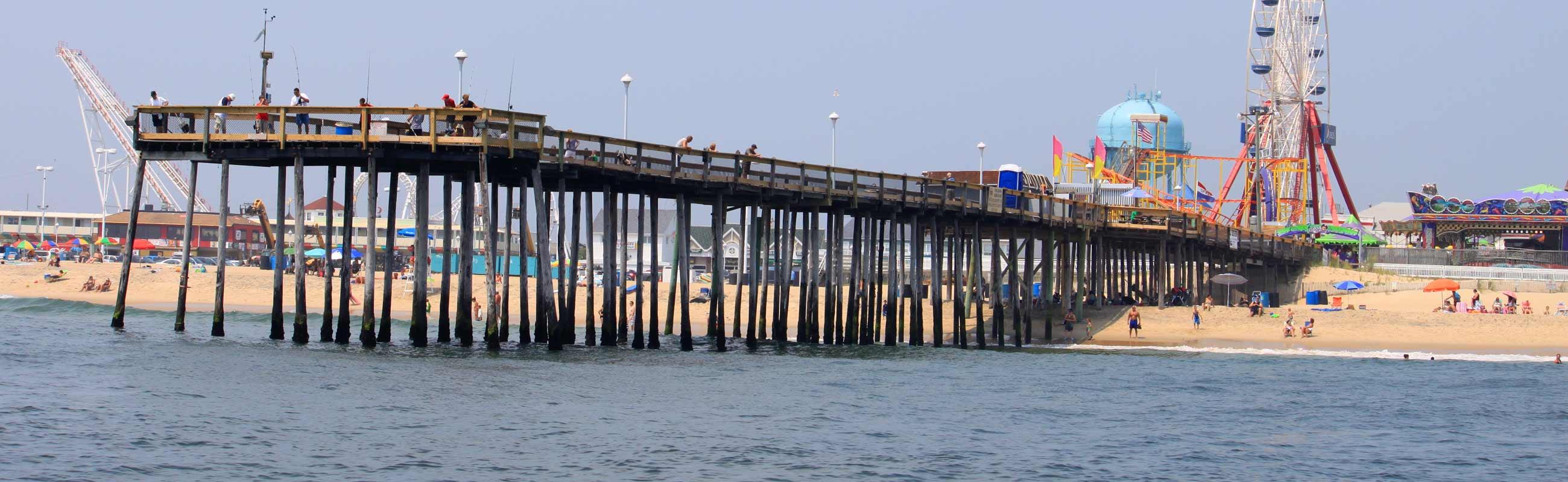 ocean city pier and boardwalk
