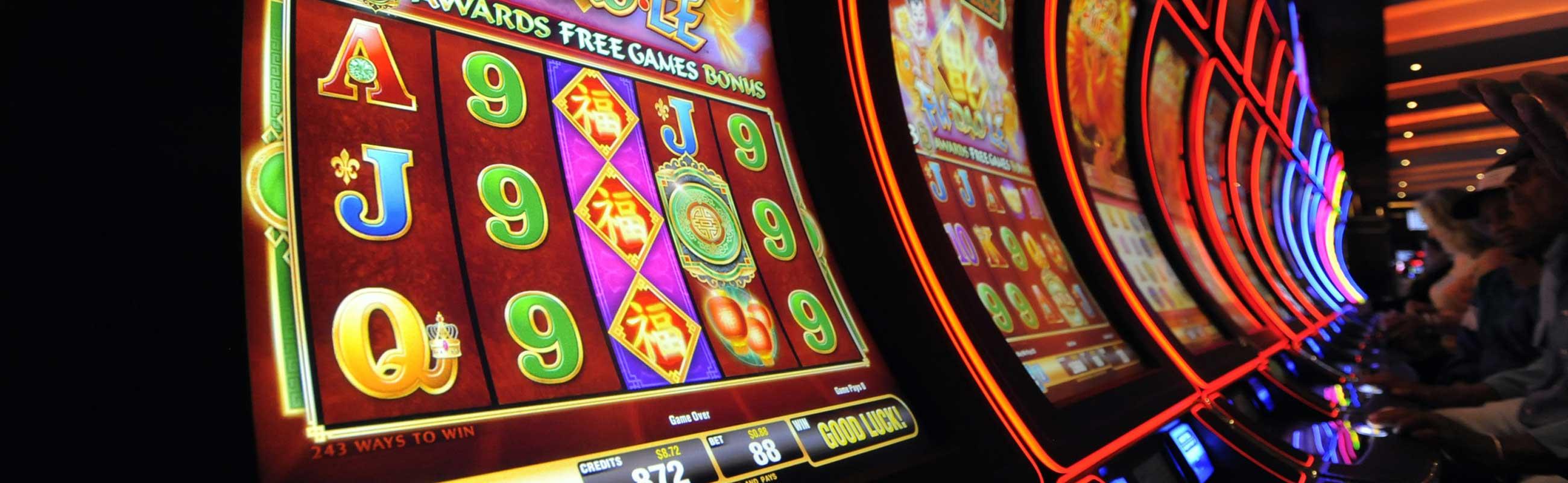 slot machines at casino