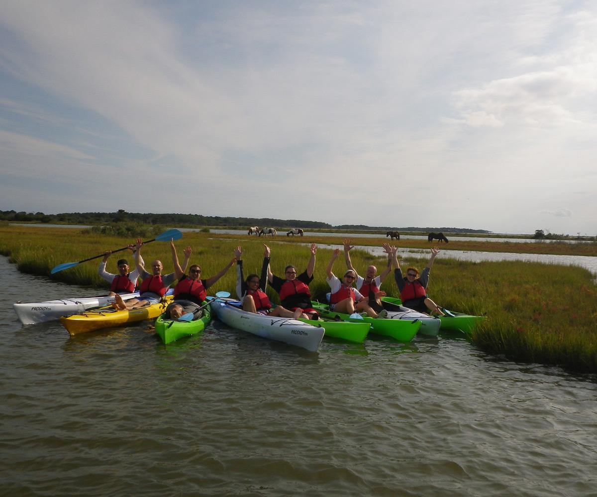 kayakers-at-assateague